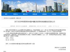 2019深圳国际连接器、线缆线束及加工设备展览会已纳入深圳市国内重点经贸科技类展会目录