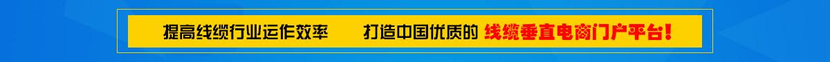 提高线缆行业运作效率,打造中国优质的线缆垂直电商门户平台
